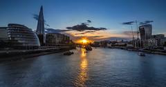 River Thames sunset (lloydich) Tags: london thames towerbridge sunset river city shard