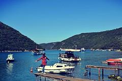 Svefn-g-englar (anvelvet) Tags: limski zaljev istra croatia gilr me daydreaming walking pier boat sea music sigur ros