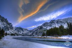 East Rosebud Lake, Montana (EMJonesPhotography) Tags: canon eos 6d 1740mm hdr sunset dusk mountains montana
