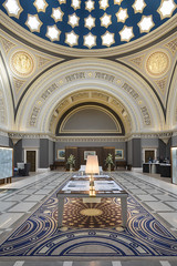 Peddie's 1857 magnificent banking hall as refurbished by our colleagues Graven Images