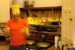 Bart (Ally Brazil) Tags: ashbartonestate devon bartsimpson fancydress