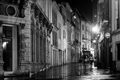 Cimadevilla, Oviedo (ccc.39) Tags: oviedo asturias españa calle cimadevilla museodebellasartes noche nocturna bn byn bw monochrome reflejos