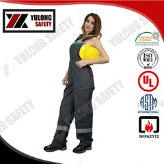 fire resistant arc flash bib pants 14 (yulong4) Tags: flame retardant workwear firefighting fire resistant coverall