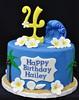 Moana themed cake (jennywenny) Tags: frangipane birthday cake moana under sea shells sand