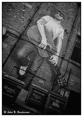 The Glasgow Busker (jbhthescots) Tags: 421mmsuperangulon fomapan100 glasgow leicam3 plustek7600i sekonicl308s vuescan xtol118min