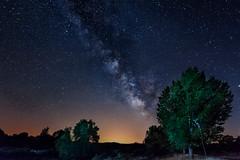 Conexion en la Naturaleza.... (10/05/2017) (protsalke) Tags: night milkyway vialactea beautiful nature stars sky colors longexposure summertime nocturne nocturnas andalucia
