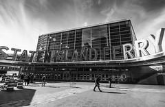 The....Staten Island Ferry (C@mera M@n) Tags: blackandwhite city financialdistrict manhattan monochrome ny nyc newyork newyorkcity newyorkcityphotography newyorkphotography places urban nycphotography outdoors