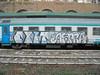 407 (en-ri) Tags: exit aspra bianco nero indaco rufus emno ckms train genova zena graffiti writing