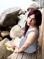 2017.03-21 (SamyOliver) Tags: samyoliver samyoliverbr ohomemfeminino genderfluid crossdresser scarpin redhead