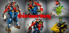 Great Super Mario (버푼) Tags: mario supermario lego bionicle buffoon herofactory