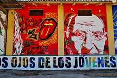 15 Sr. Momán Comunitario Homenaje a los Mayores Nava de la Asunción C. Segovia Antigua Nave almacen 160911. 4405 (javier1949) Tags: losmuralesdesrmomán streetart navadelaasunción segovia srmomán pintor románlinacero murales arteurbano pared muro medianera graffiti pintura comunitario homenajealosmayores nave almacen almacén
