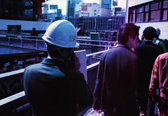 (daveknapik) Tags: shibuya tokyo japan 渋谷 東京 日本 35mm film canonet canonetgiiiql17 people lomochromepurple lomography lomo