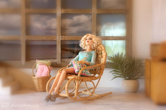 just some quality time off ... (photos4dreams) Tags: dolls27042017p4d dress barbie mattel doll toy photos4dreams p4d photos4dreamz barbies girl play fashion fashionistas outfit kleider mode puppenstube tabletopphotography helenabonhamcarter ooak oneofakind upgrade dolldesigner design custom repaint