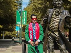 Sergio's Graduation Pictures (Philip_Blystone) Tags: graduation instagram gains frat george mason dmv va fairfax polo canon nikon nature outdoors love passion segio moya green gold