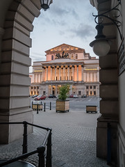 Grand Theatre - National Opera, Warsaw, Poland (msadurski) Tags: lumix gm5 warsaw warszawa architecture poland 1232