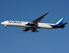 9K-AOC (MAB757200) Tags: kuwaitairways b777369er 9kaoc landing runway31r jfk kjfk jetliner boeing aircraft airplane airlines