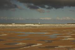 Belgian coast (Natali Antonovich) Tags: belgiancoast belgium belgique belgie northsea water reflection boat sea seasideresort seaside seaboard seashore sky landscape nature horizon