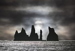 Iceland (richard.mcmanus.) Tags: iceland stacks vik arctic reynisdranger ocean clouds sun rocks landscape mcmanus