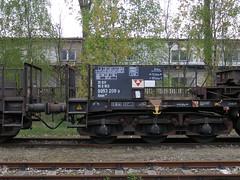 Uaais819 9953 208-9 003 (Groch1) Tags: daher daherprojects uaais uaais819 wagonspecjalny waggonunion tiefladewagen łódźżabieniec lodz abb 358099532089