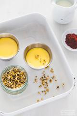 Chamomile Saffron Cream Caramel-by Meeta K. Wolf-1 (Meeta Wolff @ What's For Lunch, Honey?) Tags: meetakwolff meetak dessert food foodphotography photography presentation saffron styling