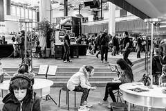 DSCF9203 (Seb v. Preussen) Tags: superbooth sooperbooth 2017 superbooth2017 berlin fez wuhlheide synthesizer schneidersladen modular doepfer blackandwhite blackwhite monochrome messe fujifilm fuji xe2 fujifilmxe2 xf27mm xf27mmmf28 27mmf28