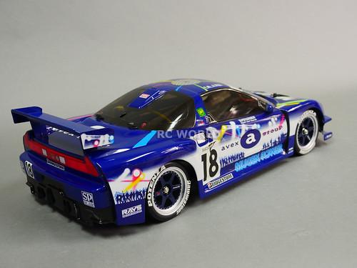 Tamiya 1 10 Rc Car Acura Nsx Avex Dome Mugen Race Car Ta03r 2 4ghz