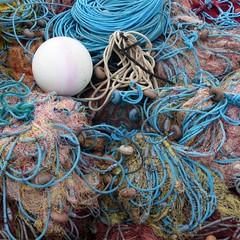 Fishing nets, Port de Soller (luckypenguin) Tags: spain majorca mallorca balearics balearicislands soller port portdesoller fishing nets