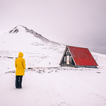 The red house - Iceland - Travel photography thumbnail