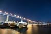 Coronado Bridge (D Pavlov) Tags: boats bridge city coronadobridge lights night sandiego water