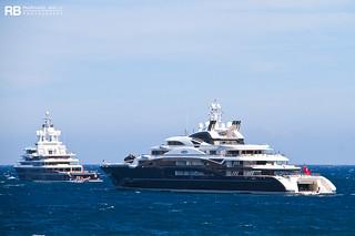 Serene - 134m - Fincantieri & Luna - 115m - Lloyd Werft