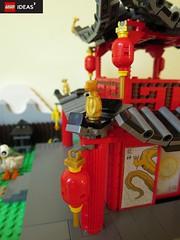 Building details (yetanothermocaccount) Tags: lego moc ninjago chinese asian tea kungfu park garden architecture ideas google gmail