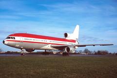N822DE Lockheed L1011-1 Tristar 'Duane Egli' (Keith B Pics) Tags: n822de l1011 manston mse egmc duaneegli keithbpics 3cqqx lzpte daerp n337ea rb211 tristar lockheed ostend ebos ost ltu