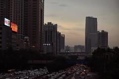Metropolis (ralphrahmer) Tags: crowds traffic avenue guangzhou megalopolis pearlriverdelta