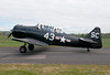 G-AZSC Harvard (Steve_ Jones) Tags: aircraft lightaircraft egbo halfpennygreen staffordshire generalaviation nikon d300 harvard gazsc
