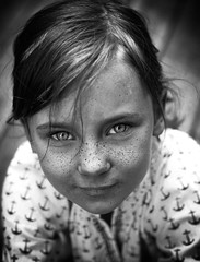 Freckles (kortenha) Tags: portrait monochromeportrait eyes freckled freckles