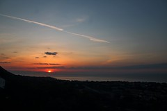 space (dimatteoeleonora) Tags: cefalù sicilia sicily flickrdiamond home sunset tramonto love landscape sky skyporn skyscape plane italy incrediblenature nature natura blu blue red rosso shape peace country space light lux