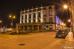 Teatro Jofre, from Ferrol-Galicia (Spain). Color (A. Muiña) Tags: arquitectura architecture histórico historical ciudad nocturna nightshots street social urbana theater color building calle nikond800