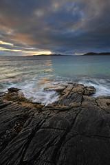 RockSwirl (Leathanach) Tags: niseabost nahearadhharris westernisles rocks sea muir creagan geology taransay atlantic clouds sky light nikond700