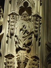 St James Minor (Aidan McRae Thomson) Tags: worcester cathedral worcestershire medieval sculpture carving statue