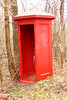 Bright Red (craigsanders429) Tags: erierailroad erielackawanna mantuaohio headwaterstrail abandonedrailroads red brightred