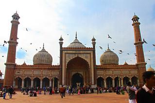 Jama Masjid Mosque of New Delhi