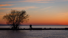 Chin Up (Bert CR) Tags: niagara spring lovers selfie harbor portdalhousie stcatherines sunset colorful silhouette moretocome chinup