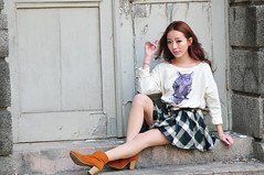 Lili1017 (Mike (JPG直出~ 這就是我的忍道XD)) Tags: lili 台灣大學 d300 model beauty 外拍 portrait 2014