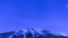 Shooting Star - Wheeler Peak - Great Basin National Park, NV (f-st0p) Tags: greatbasinnationalpark shootingstar night sky scenic landcape nevada dawn blue wheelerpeak snow mountains