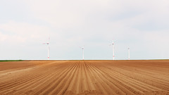 Land Use (panfot_O (Bernd Walz)) Tags: field fields agriculture soil graphics windturbines landuse rural countryside alzeyerhügelland germany emptiness minimal minimalism transformedlandscape fineart
