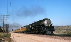 Westbound Challenger (GRNDMND) Tags: trains railroads unionpacific up steam locomotive challenger 4664 3985 cajonpass summitvalley california