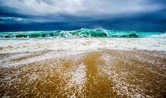 Good Morning Monterey (danielledufour430) Tags: beach water sand ocean sea tide wave blue monterey marina california pacific westcoast storm clouds seascape landscape sonya6000