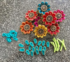 I'm on a roll... (woolly  fabulous) Tags: pin zipper wool flowers felt woollyfabulous brooch