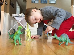 "Paul Plays with His Dinosaurs • <a style=""font-size:0.8em;"" href=""http://www.flickr.com/photos/109120354@N07/34430542806/"" target=""_blank"">View on Flickr</a>"