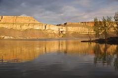 Banks Lake Sunset (Just Peachy!) Tags: washington bankslake steamboatrockstatepark